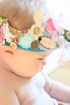 adorable! Little girls crown