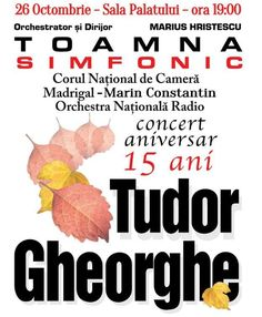 Toamna Simfonic Aniversar - 26 Oct 2016 Orchestra, Movies, Movie Posters, Colour, 2016 Movies, Film Poster, Films, Film, Movie