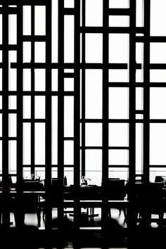 Aman Tokyo Japan lobby metal screen