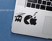 Computer decal Apple Stickers, Geek Fashion, Tech Gadgets, Hello Kitty, Decals, Geek Stuff, Snoopy, Unique Jewelry, Handmade Gifts