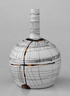 Tania Rollond porcelain bottle