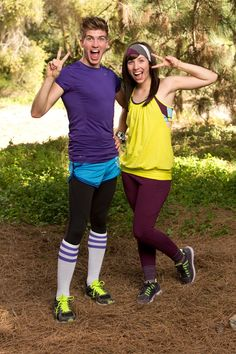 Joey Graceffa and Meghan Camarena on the Amazing Race All Stars! I just watched the first episode and I am so happy they're still in!