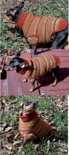 Autumn Stripes Sweater