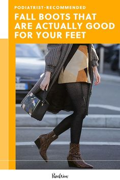 Before we stock up on a few pairs for fall, though, we checked in with podiatrist Dr. Miguel Cunha to find out which boots are healthiest for our feet. #boots #fall #feet Kimora Lee Simmons, Thigh Highs, Winter Boots, Dress To Impress, Autumn Fashion, Doctors, Pairs, Shoes, Cunha