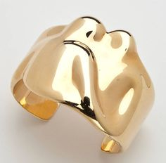 Tiffany & Co. Elsa Peretti Gold Cuff Bracelet image 3