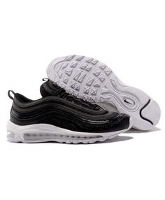 42609af0c5569 Nike Air Max 97 Shockproof Black White Sport Shoes UK Sale
