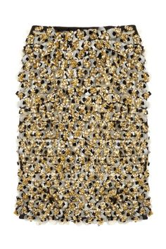 Marni Embellished silk and wool-blend skirt - 50% Off Now at THE OUTNET