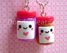 Pictures Kawaii Lollipop Dum Pendant Polymer Clay Charm Doodiebear 2 | HD