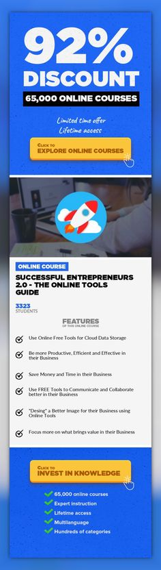 Successful Entrepreneurs 2.0 - The Online Tools Guide Entrepreneurship, Business  Discover the main online tools that thousands of successful entrepreneurs are using for their businesses! Being an entrepreneur in the new digitalized economy can be a really challenging task for anyone, even for serial entrepreneurs with years of experience online. Things are changing with the speed of light, new si...