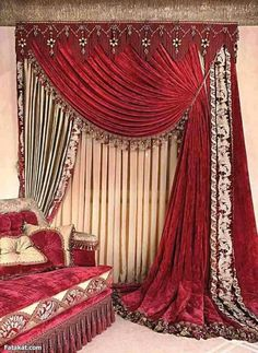 Beautiful Home Curtain Designs Ideas Curtains And Draperies, Luxury Curtains, Elegant Curtains, Home Curtains, Beautiful Curtains, Curtains Living, Modern Curtains, Window Curtains, Luxury Bedding