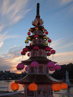 Lantern-Jinju Lantern Festival-Jinju-South Korea by mikemellinger, via Flickr