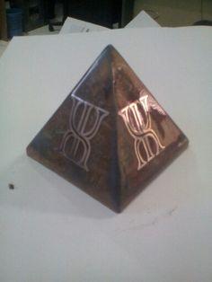 #Orgonite pyramid - www.facebook.com/jopower.orgonite