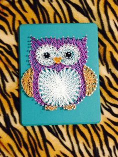 Custom Owl String Art by WhiteWoodworks on Etsy