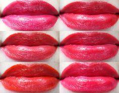 Review, Swatches & Tragebilder: L´Oréal Color Riche La Palette Lips - Red