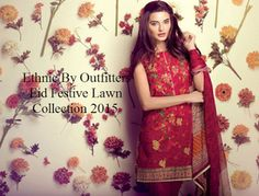 Ethnic By Outfitters Eid Festivity Lawn Collection 2015-16Moderate Fashions