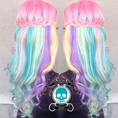 cotton candy hair on pinterest hair pastel hair and