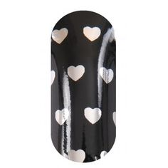 KOOKY Hearts Silver with Black Wraps