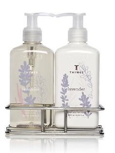 Thymes Sink Set Chrome Caddy with Hand Wash and Lotion Lavender -- Check this awesome product by going to the link at the image.