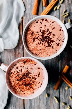 Lately I've been all about frothy drinks and cozying up on the sofa with a good series 💫 Just finished The Good Fight (I love legal series,… Hot Chocolate With Almond Milk, Orange Cookies, Raw Cacao Powder, Best Series, Dessert Recipes, Desserts, Baking Ingredients, Cookie Dough, Dairy Free