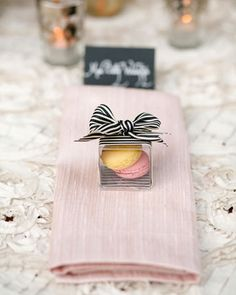 Wedding tips! Presentación detalles para invitados | Madera&Chocolate