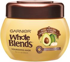 Avocado Oil & Shea Butter Nourishing Conditioner by Garnier. Moisturizing hair mask, with avocado and shea, to replenish very dry hair to healthy, shiny hair. Coconut Oil Hair Growth, Coconut Oil Hair Mask, Moisturizing Hair Mask, Shea Butter Face, Whole Blends, Butter Extract, Diy Masque, Avocado Face Mask, Shampoo For Thinning Hair