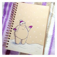 http://deeeskye.deviantart.com/art/Baymax-in-the-Snow-476674584