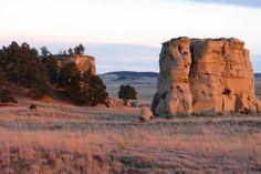 Medicine Rocks State Park in Ekalaka Montana
