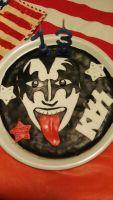 torta rock dei Kiss