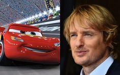 Lightning McQueen from Cars - Owen Wilson