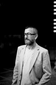 beard at southbank centre #london #bfi #blackandwhite #portrait #100beards