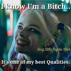 One of em Sassy Quotes, Girl Quotes, True Quotes, Funny Quotes, Boss Bitch Quotes, Badass Quotes, Harly Quinn Quotes, Dc Memes, Joker Quotes