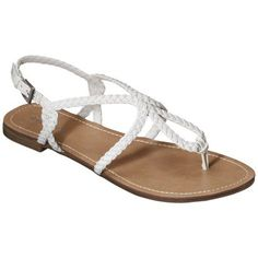 white sandals WANT THESE FROM TARGET