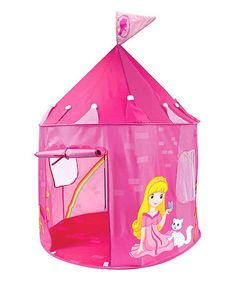 This Pink Princess Play Castle Tent is perfect! #zulilyfinds