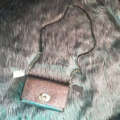 """COACH Glitter Crosstown Gorgeous glitter Crossbody. Silver hardware. 9""""x6""""x2"""" with 22"""" drop. NWT- price firm unless bundled⭐️no trades⭐️ Coach Bags Crossbody Bags"""