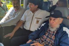 """Nicolás Maduro e Evo Morales comemoram aniversário de Fidel Presidentes estão em Havana para celebrar os 89 anos do líder cubano. Em artigo, Fidel diz que EUA """"devem milhões"""" em indenizações à ilha."""