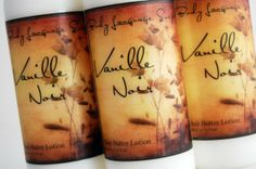 So Delicious!    ~~Vanille Noir Shea Butter Lotion  Vanilla and Sandalwood by BLSoaps, $8.95