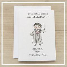 Tarjeta de Harry Potter tarjetas de felicitación por kenziecardco