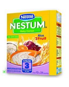 cc1c54f3c8 Nestle Nestum - Rice 3 Fruit (Stage 3)
