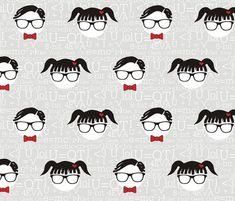Get Your Geek On! fabric - smuk - Spoonflower