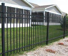 1000 Images About Fences On Pinterest Aluminum Fence