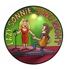Logo Lazy Sonnie Song Night. 12 mei 2018.