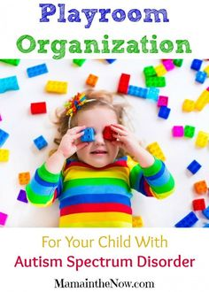 Playroom Organization for Your Child with ASD (Autism Spectrum Disorder). Game changing tips and tricks to bring comfort and structure in your child' Autism Sensory, Sensory Activities, Activities For Kids, Preschool Ideas, Autism Parenting, Parenting Hacks, Playroom Organization, Organization Ideas, Organizing