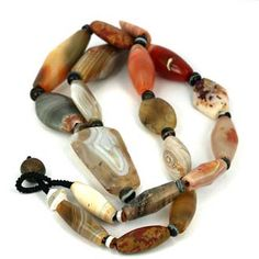 Superior Collection of Ancient World Agate & Jasper Beads