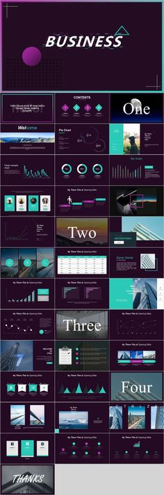 Colorful business report PowerPoint - The most creative designs Cool Powerpoint, Powerpoint Design Templates, Professional Powerpoint Templates, Keynote Template, Infographic Powerpoint, Powerpoint Games, Powerpoint Presentations, Ppt Design, Design Art