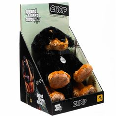 GTA V Chop Plush Collectible & Bullet Whistle