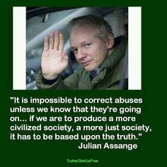Julian Assange, my favorite controversial outlaw angel..