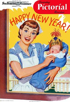 Welcoming 1956 with wide-eyed enthusiasm!