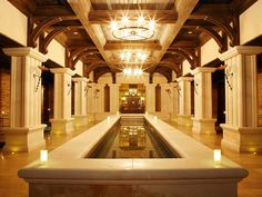 The spa at Kilronan Castle, Ireland, one of the most beautiful places I've ever been