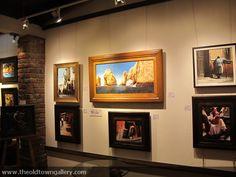 A unique gallery, with unique pieces