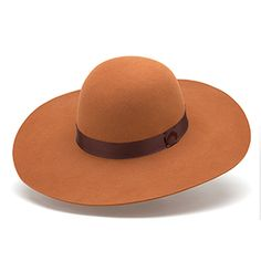 Feliz floppy hat in terra 100% woolfelt